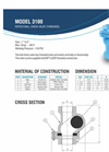 3100 Series NPT Threaded Brochure