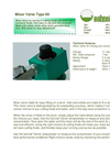 Schnell Teknik - Model Type 60 - Emulsion Mixing Unit - Brochure