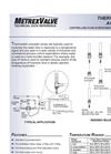 Model 900T Series - Thermostatic Actuated Valves Brochure