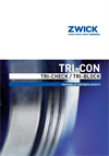 Zwick - Model TRI-CON - Self Centering Disc Valve Brochure