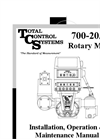 Model TCS 700 - Rotary Flow Meter Manual