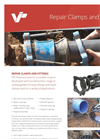 Sealing Gaskets for Pipe Repair Clamps & Fittings Brochure