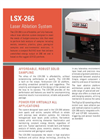 CETAC - Model LSX-266 - Robust Laser Ablation System Brochure