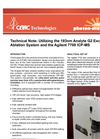 Utilizing the Analyte G2 and the Agilent 7700 ICP-MS Technical Note
