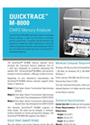 QuickTrace - Model M-8000 - Cold Vapor Atomic Fluorescence Mercury Analyzer Brochure