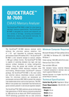 QuickTrace - Model M-7600 - Cold Vapor Atomic Absorption Mercury Analyzer Brochure