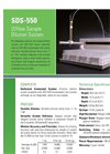 Model SDS-550 - Offline Sample Dilution System Brochure
