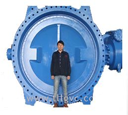 TLVC - Double Flange Large Size Butterfly Valve