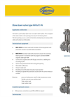 IGEMA - Model Type KAVx R1-N - Blow Down Valve Datasheet