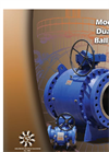 Model 40 - Patented Dual-Seal Ball Valve Brochure