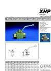 Series XHP - High Pressure Valve Specifications