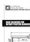 Base Silencers for Rotary Positive Blowers - Brochure