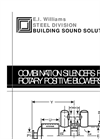 Combination Silencers for Rotary Positive Blowers - Brochure