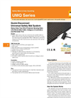UMQ Series Quick-Disconnect Universal Safety Mat System - Datasheet