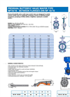 Model BVP-79G - Butterfly Valve Wafer Type with Neumatic Actuator Brochure