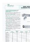 Everfilt - Model SMS Series - Pressure Screen Filters - Brochure