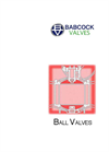 Ball Valves Products Catalogue