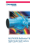 KLINGER Ballostar - Model KHI - 2-Piece Ball Valves Brochure