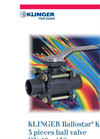 KLINGER Ballostar - Model KHA - 2-Piece Ball Valves Brochure