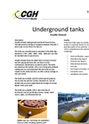 CGH - Double Skinned Underground Steel Tanks - Brochure