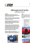 CGH - Double Skinned Horizontal Steel Tanks - Brochure