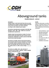 CGH - Double Skinned Vertical Steel Tanks - Brochure