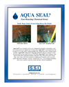 Aqua Seal - Fast Reacting Chemical Grout - Brochure