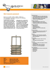 Model XL3 - Channel Penstock Brochure