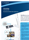 CleanPipe - Model PE100 - High Density Polyethylene Pipe (HDPE) Brochure