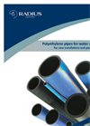 Radius - Model PE100 - High Density Polyethylene Black Potable Water Pipe Brochure