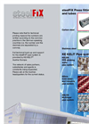 steelFIX - Stainless Steel Drinking Water Pipe System Brochure