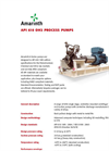 Model API 610 OH2 - Oil & Gas Process Pumps Brochure