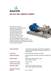 Model API 610 OH1 - Oil & Gas Process Pump Brochure
