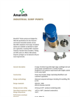 Model T Series - Industrial Vertical Sump Pump Brochure