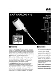 Delavan Cap Analog 410 Integral R.F. Capacitance Level Transmitter - Datasheet
