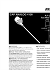 Delavan Cap Analog 4100 R.F. Capacitance Two-Wire Level Transmitter - Datasheet