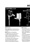 Delavan Captrol 514 R.F. Capacitance Multi-Point Level Switch - Datasheet