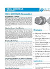 Shand & Jurs - Model MCG 2000MAX - Level Transmitter - Datasheet