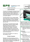 GPE - Model 31570 - 6-Inch Photojet Edge Guide Sensor - Brochure