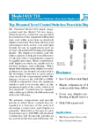 Omnitrol 613 / 713 Top Mounted Level Control Switches Porcelain Displacers - Datasheet