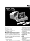 Sonac - Model 1000 - 2-Wire Single Point Switch - Datasheet