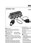 Sonac - Model 220 - Single Point Switch - Datasheet