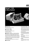 Sonac - Model 1100 - 2-Wire Single Point Switch - Datasheet