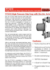 Shand & Jurs - Model 97101E - High Pressure Drip Trap with Electric Actuator - Brochure