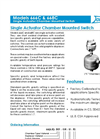 666 – 668 (C) - Single Actuator Chamber Mounted Switch – Brochure