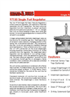 97150 - Single Port Regulator – Brochure