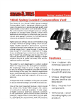 Shand & Jurs - Model 94040 - Spring Loaded Conservation Vent (Pressure/Vacuum) - Brochure
