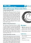L&J Engineering - Model MCG 350 - Average Temperature Probe - Brochure