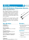 L&J Engineering - Model MCG 300 - Resistance Temperature Detector - Brochure