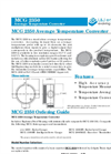 L&J Engineering - Model MCG 2350 - Average Temperature Converter - Brochure